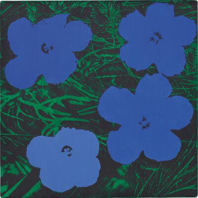 Sturtevant, 'Warhol Flowers', 1965