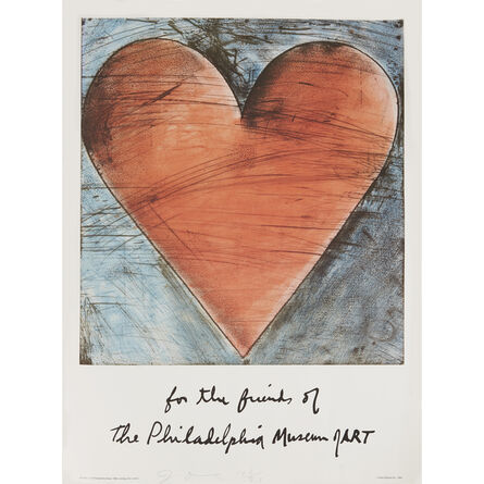 Jim Dine, 'Three Posters: The Philadelphia Heart; Wrapped Monument to Vittorio Emanuele (Poster); New York State Theater / Lincoln Center'