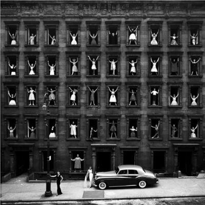 Ormond Gigli, 'Girls in the Windows', 1960