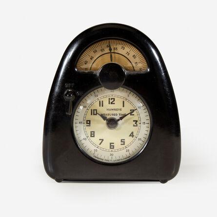 Isamu Noguchi, 'Hawkeye Measured Time Clock and Kitchen Timer, Measured Time Inc., La Porte, Indiana', Circa 1932