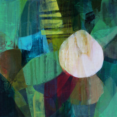 Katherine Sandoz, '(Bermuda Studies) Palms', 2017