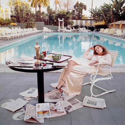 Terry O'Neill, 'Faye Dunaway, Oscar', 1977