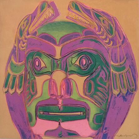 Andy Warhol, 'NORTHWEST COAST MASK FS II.380', 1986