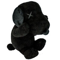 KAWS, 'SNOOPY PLUSH (Black Large)', 2017