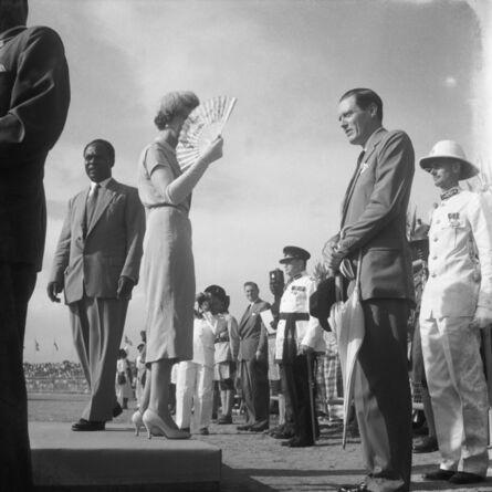 James Barnor, 'Independance Celebrations, Duchess of Kent, Kwame N'Krumah, Accra, 1957', 2018