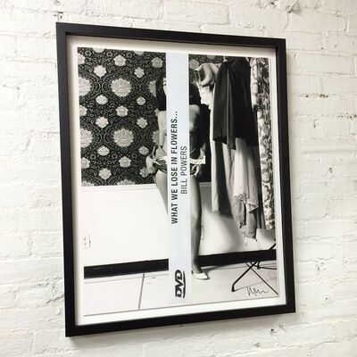 """Richard Prince, '""""What we Lose in Flowers..."""", Print, Signed, FRAMED (white)', 2012"""