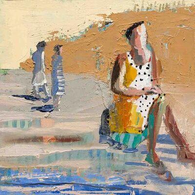 Linda Christensen, 'Chair in River', 2021