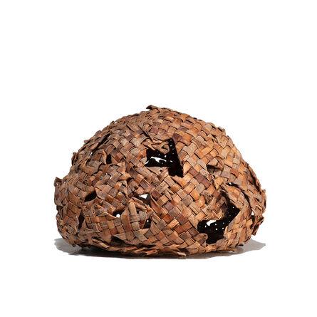 Hisako Sekijima, 'Cedar Bark Sphere', 1990