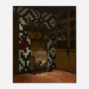 Francis Davis Millet, 'The Artist's Kitchen, Antwerp', c. 1871-1873