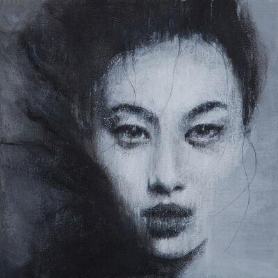 Vitaliano, 'Studio di donna V', 2014