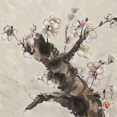 Minol Araki, 'Flowering Plum Branch (MA-322)', 1977