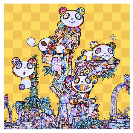 Takashi Murakami, 'Panda child panda panda', 2020
