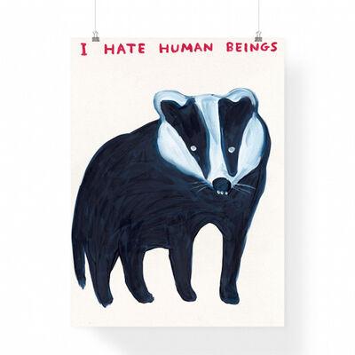 David Shrigley, 'I Hate Humans', 2021