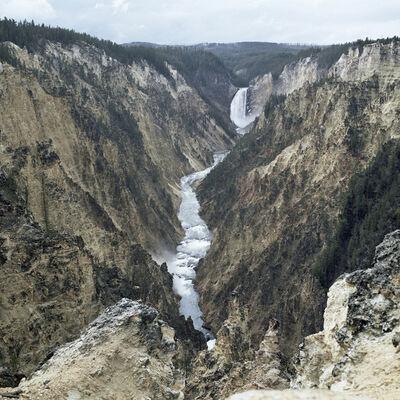 Victoria Sambunaris, 'Untitled (Falls at Yellowstone), Yellowstone National Park', 2008