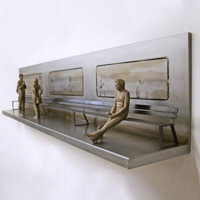 Marta Sánchez Luengo, 'El banco que espera al tren IV ', 2019