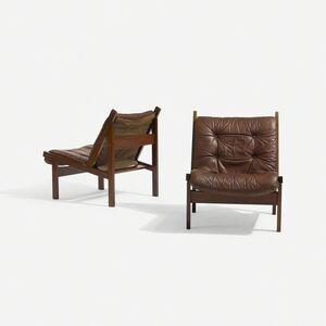 Torbjørn Afdal, 'lounge chairs, pair', c. 1960