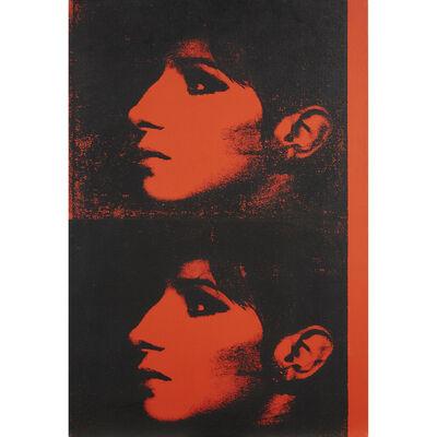 Deborah Kass, '2 Red Barbras (Jewish Jackie Series)'