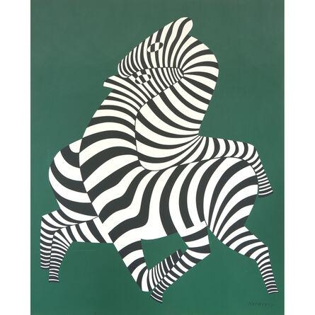 Victor Vasarely, 'Zepar', Conceived between 1940-1980; executed circa 1988