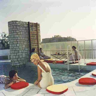 Slim Aarons, 'Penthouse Pool', 1961