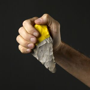 Ami Drach and Dov Ganchrow, 'Handaxe #5 and Blade #9 from the BC–AD Contemporary Flint Tool Design series', 2011