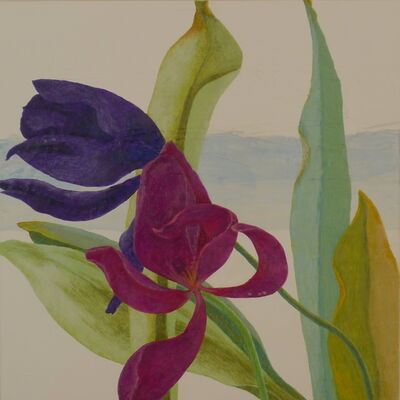 Ulrike Stadler, 'Tulips Dying and Crying XII'