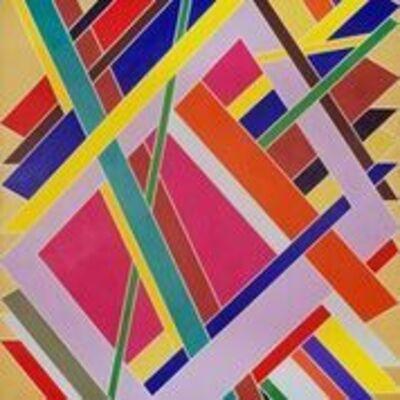 William T. Williams, 'Trane', 1969