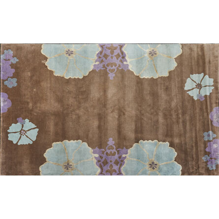 """The Rug Company, 'Flat weave """"Harem"""" room-sized rug, with stylized  floral border'"""