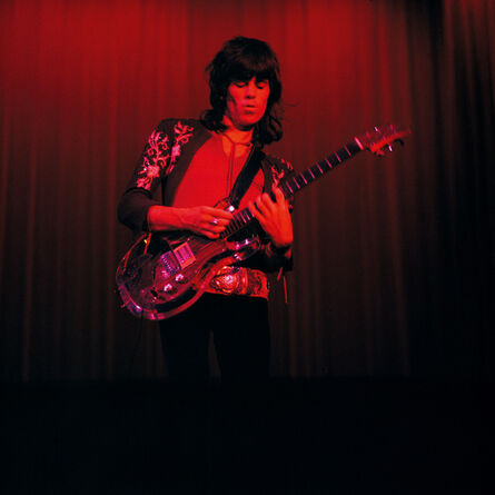 """Bent Rej, '""""Little Red Rooster"""" Keith Richards on Stage, Copenhagen, 1970', 1970"""