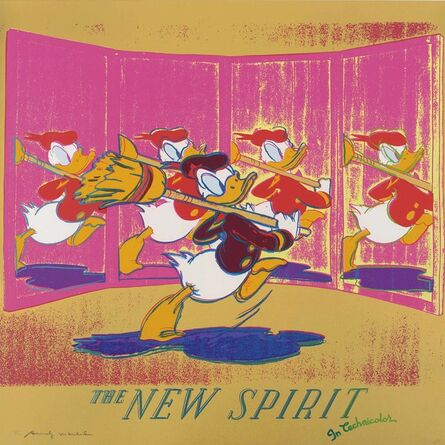 Andy Warhol, 'The New Spirit (Donald Duck), from: Ads', 1985