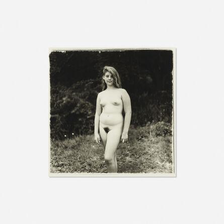 Diane Arbus, 'Young Girl at Nudist Camp', 1965