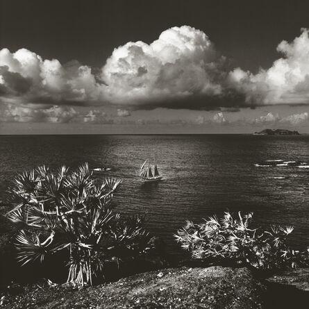 Chris Simpson, 'The Schooner Isla Maurtua - Mauritius', 1990