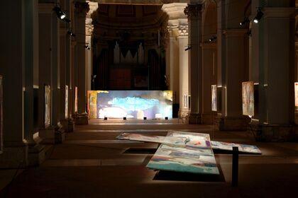 Marcello Mariani, The Colors of the Sacred.  Experimental Museum of Contemporary Art, Basilica di San Domenico, L'Aquila