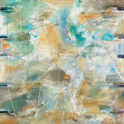Park Yungnam, 'Landscape Against Blue Sky', 1994