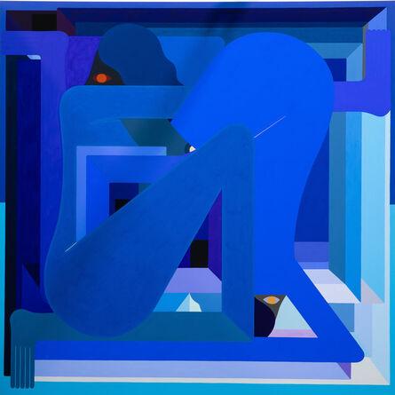 Richard Colman, 'LA Painting (blue)', 2018