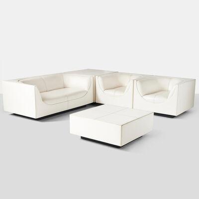 "Jorge Zalszupin, '""Cubo"" Living Room Suite for L'Atelier', 1970-1979"
