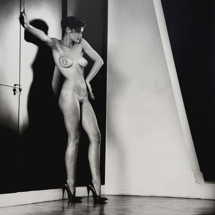 Helmut Newton, 'Sylvia in my Studio', 1981
