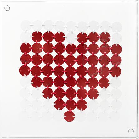 Kelly Kozma, 'Bitty Red Heart', 2017