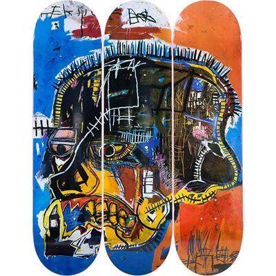 Jean-Michel Basquiat, 'Skull', 2017