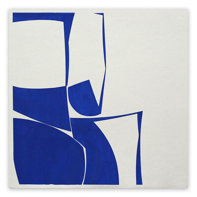 Joanne Freeman, 'Covers 24 Blue G Summer (Abstract painting)', 2016