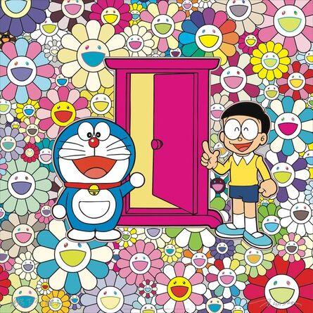 Takashi Murakami, 'Anywhere door in the flower garden', 2018