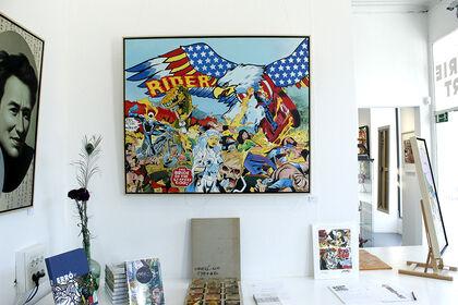 ERRÓ à Strasbourg - Peinture - Collage - Estampe