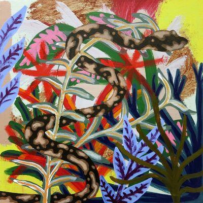 Patrick Cruz, 'blind cow serpent', 2016