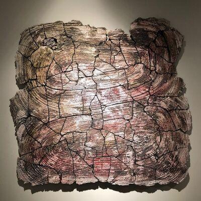 Pekka Paikkari, 'Bleeding Wall Fragment', 2018
