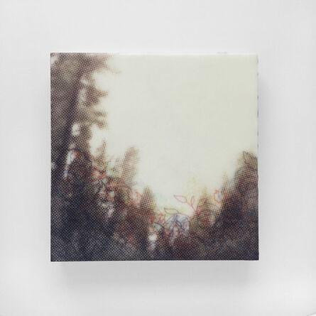 Karen Gallagher Iverson, 'Crest From Below, Tahoe Tree Line ', 2017