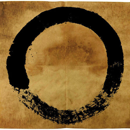 Takashi Murakami, 'Coffe Zen Enso Black', 2020