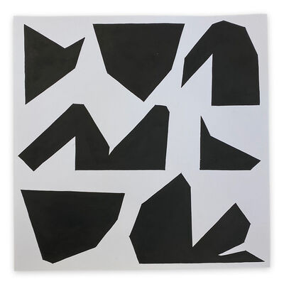 Ulla Pedersen, 'Cut-Up Paper 2002 (Abstract painting)', 2020