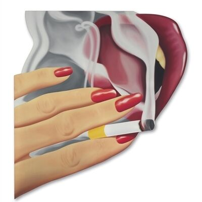 Tom Wesselmann, 'Smoker #22'