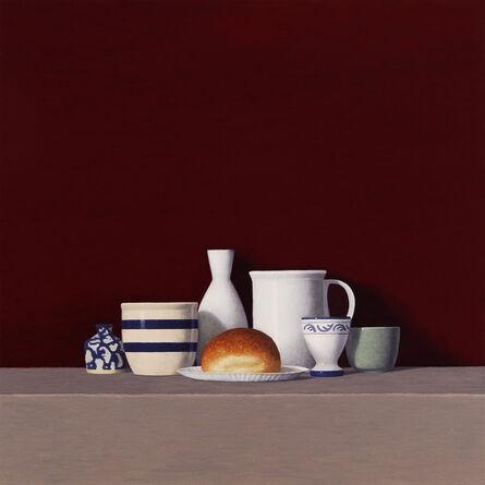 David Harrison, 'Still Life with Roll', 2013