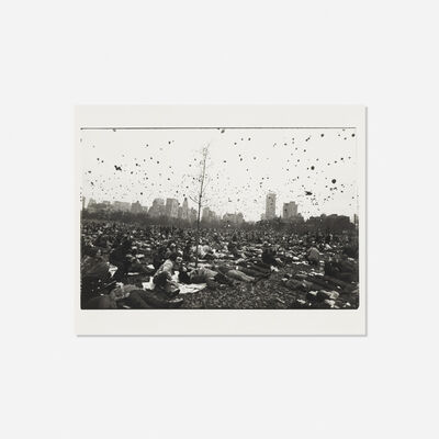 Garry Winogrand, 'Peace Demonstration, Central Park', 1970