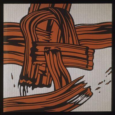 Roy Lichtenstein, 'Red Painting (Brush Stroke) ', 1965